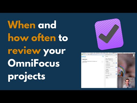 How to set up your projects and folders in OmniFocus 3 - YouTube