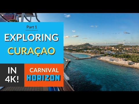 Willemstad, Curacao | Disembarking & Exploring the Port | Carnival Horizon Cruise Vlog