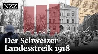 Am Rand des Bürgekriegs - Der Schweizer Landesstreik 1918
