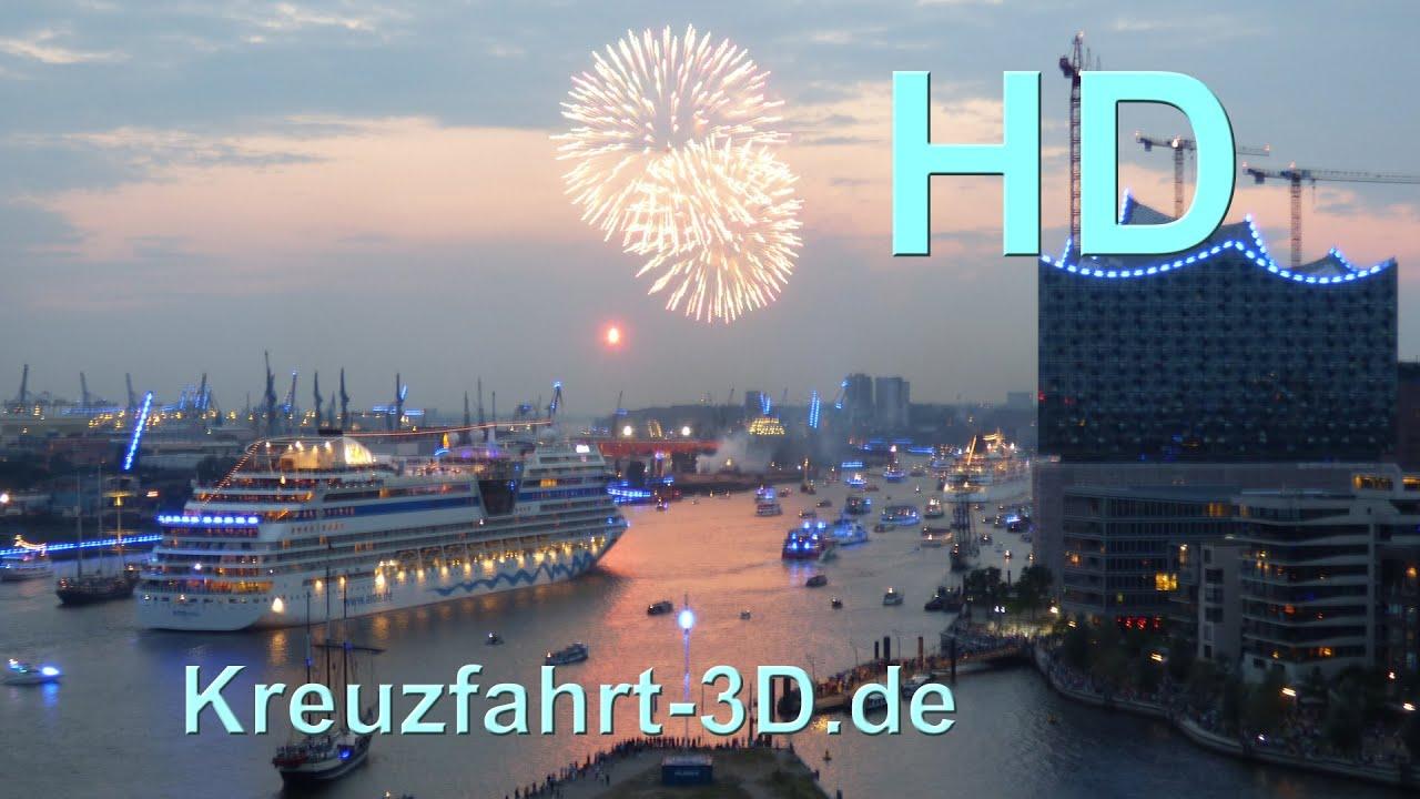 Große Hamburg Cruise Days Parade 2014 Highlights Inkl Feuerwerk
