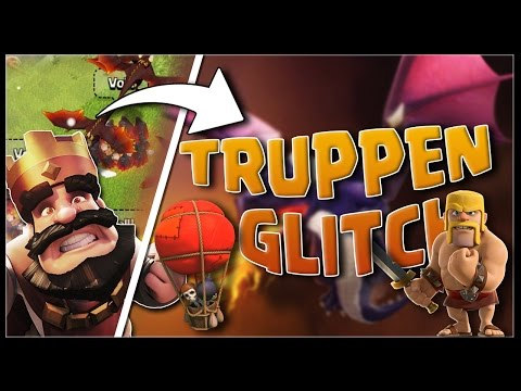 Clash of Clans (GEPATCHT) Truppen Glitch 2016!!