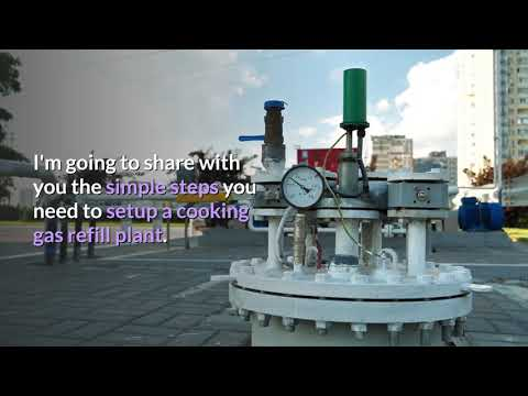 How To Practically Setup Cooking Gas Plant - Part 1