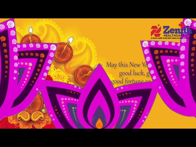 Zenith Healthcare Limited Diwali & New Year Greetings