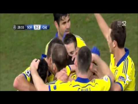 Schalke 04 vs Chelsea 0:5 ~ Шальке 04 - Челси 2014