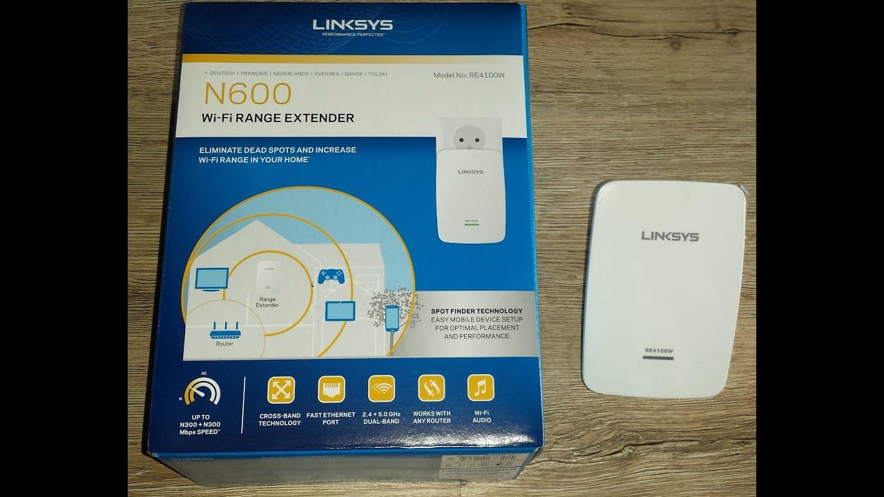 linksys wifi range extender n600 4100w part 1 by B R-H D