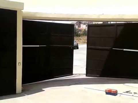 brazos para puerta automatica