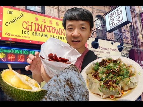 New York City Chinatown Tour Part 2! Manhattan Chinatown
