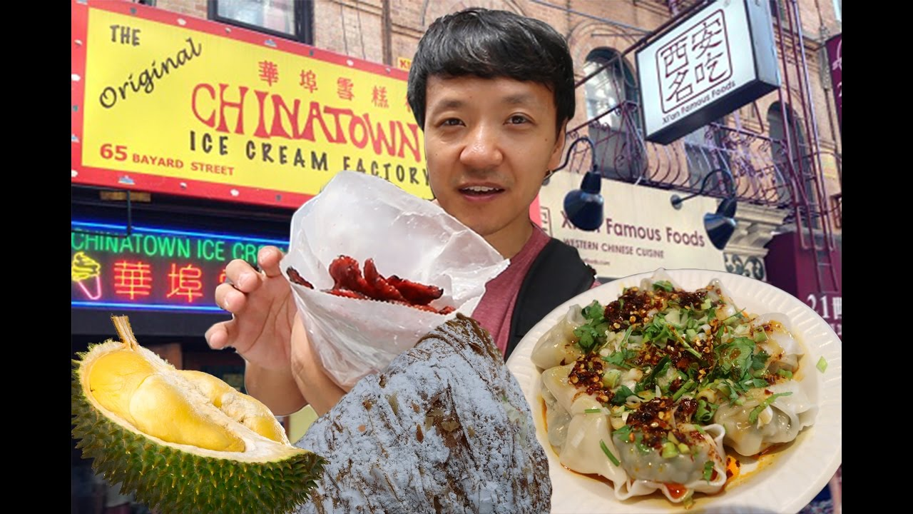 New York City Chinatown Tour Part 2 Manhattan Chinatown Youtube