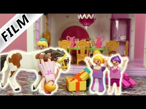 Playmobil Film deutsch | Hannah stürzt auf Prinzessinen Geburtstag in Schloß vom Pferd | Kinderserie