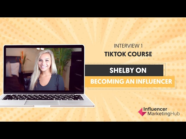 How to get famous on TikTok Fast - Free TikTok Course - Interview one with Shelby Leimgruber