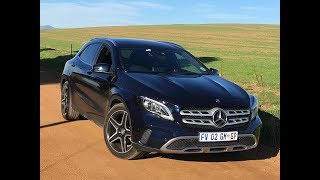 What is covered by the Mercedes Benz GLA used car warranty?