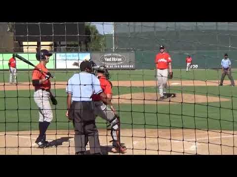 Cason Sherrod 9 27 2018 Instructional League Jupiter Fl Youtube
