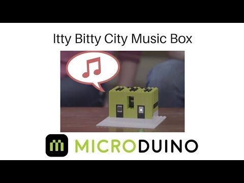 Itty Bitty City: Build Your Own Music Box!