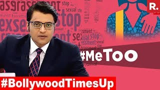 Bollywood Struck By 'Me Too' Campaign  | The Debate With Arnab Goswami