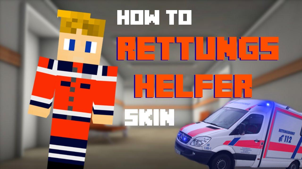 How To RettungshelferSanitäter Skin Erstellen Minecraft - Kleine skins fur minecraft