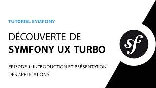 Miniature catégorie - Tutoriel Symfony UX Turbo (Hotwire) - 1/5 - Présentation des applications