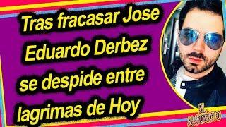 Corren de Hoy de Televisa a José Eduardo Derbez por no agradar al publico