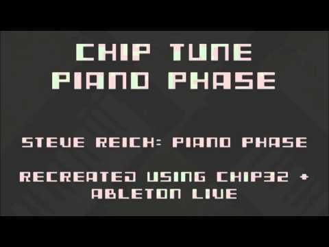 Piano Phase - Chip Tune Version