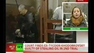 NWW World-News (Moskow Khodorkovsky Guilty LIVE 02) 27.12.2010