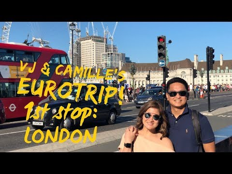 Vj and Camille take EUROPE! PART 1