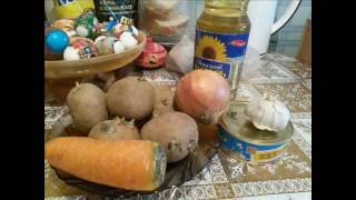 Быстрая уха из консервы - A quick soup with canned