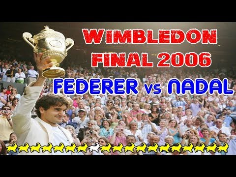 It's BACK ONLINE! Federer v Nadal ● Final Wimbledon 2006 50fps Highlights