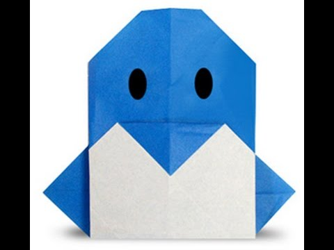 How To Make Origami Penguin