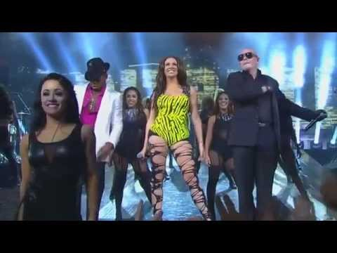 HD Pitbull, Chris Brown and NeYo 2012 NBA All Star Game Halftime Show