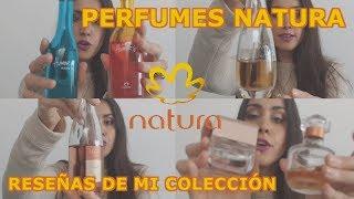 Mi colección de perfumes Natura - 2018 - Nuevitos y clásicos #PerfumesNatura