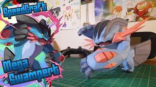 Pokemon Papercraft ~ Mega Swampert~