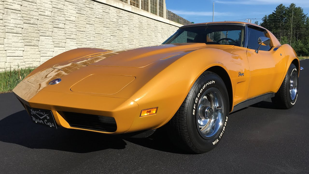 1973 Chevrolet Corvette Stingray Coupe T tops for sale by Specialty Motor  Cars C3 Vette