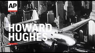Howard Hughes' Flight - 1938| Movietone Moment | 10 July 2020