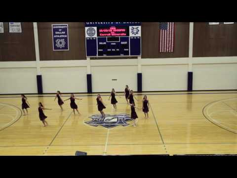 University of Dallas Fall 2016 Lyrical Dance