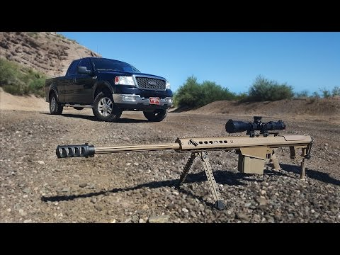 Will a .50 Cal Stop A Running Engine? - Fullmag Slow Motion