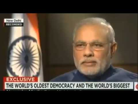 PM Narendra Modi Full Interview CNN - Fareed Zakaria GPS September 2014First International US Interv