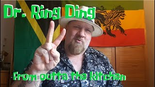 "Dr. Ring Ding from outta the kitchen - live stream for ""Reggae in Berlin"" on April 9, 2020"