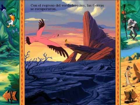 Libro Animado Interactivo: Rey León (Español - Parte 2