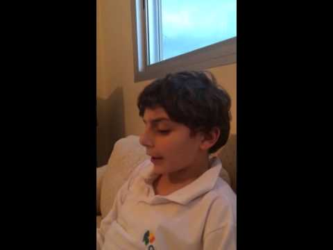 Alexandre Singing