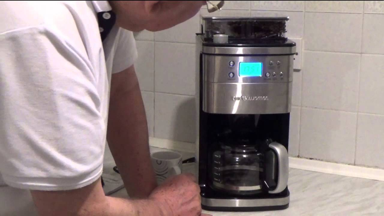 The Andrew James Premium Coffee Maker with Integrated ...