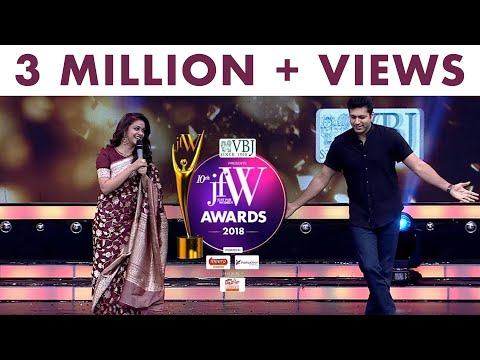 This is the time for me to romance! Keerthy Suresh at JFW Awards 2018