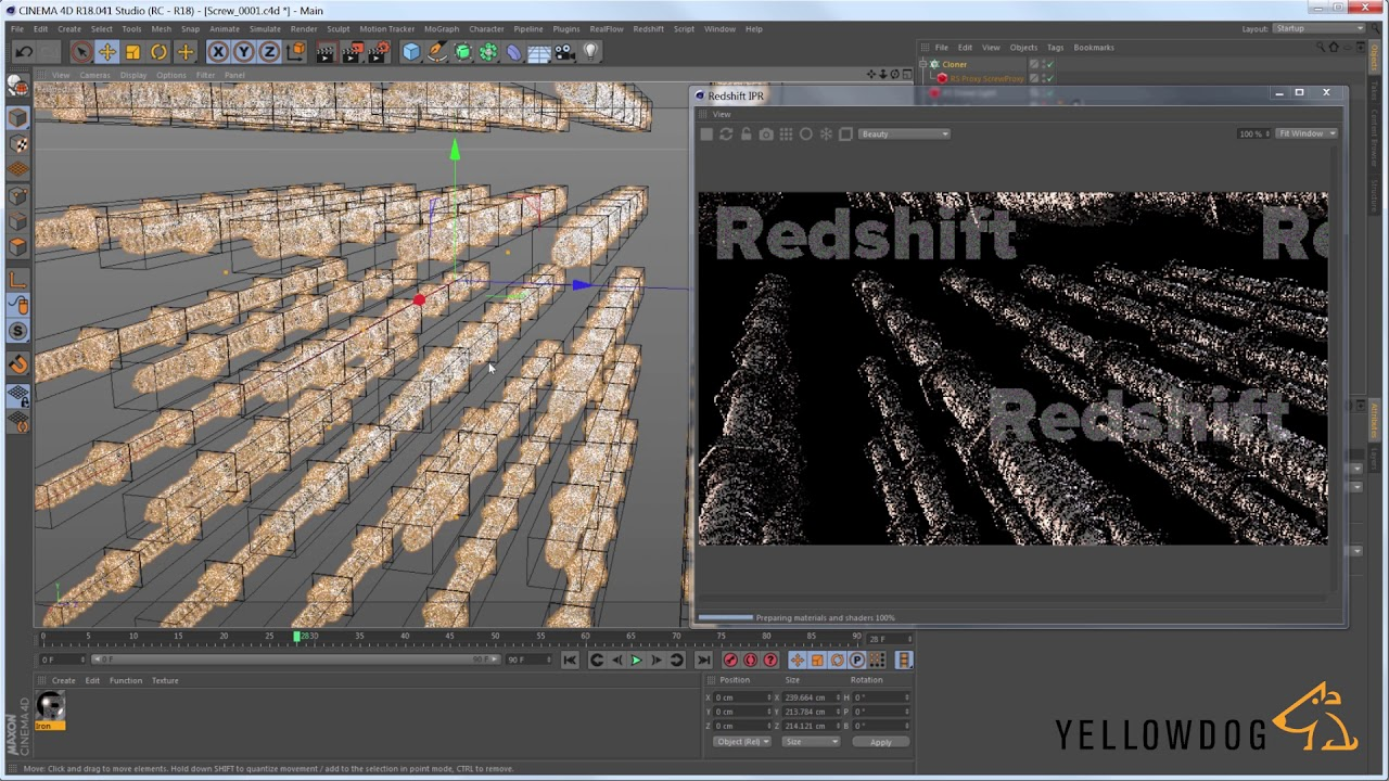Working with Redshift Proxies in Cinema 4D