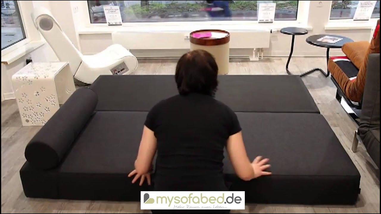 lubi schlafsofa daybed von softline doppelliege. Black Bedroom Furniture Sets. Home Design Ideas