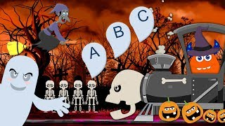 ABC Spooky Song | Coco Beats Cartoons | Learning Videos For Children by Kids Channel