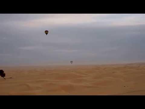 Ballooning Above Dubai, United Arab Emirates