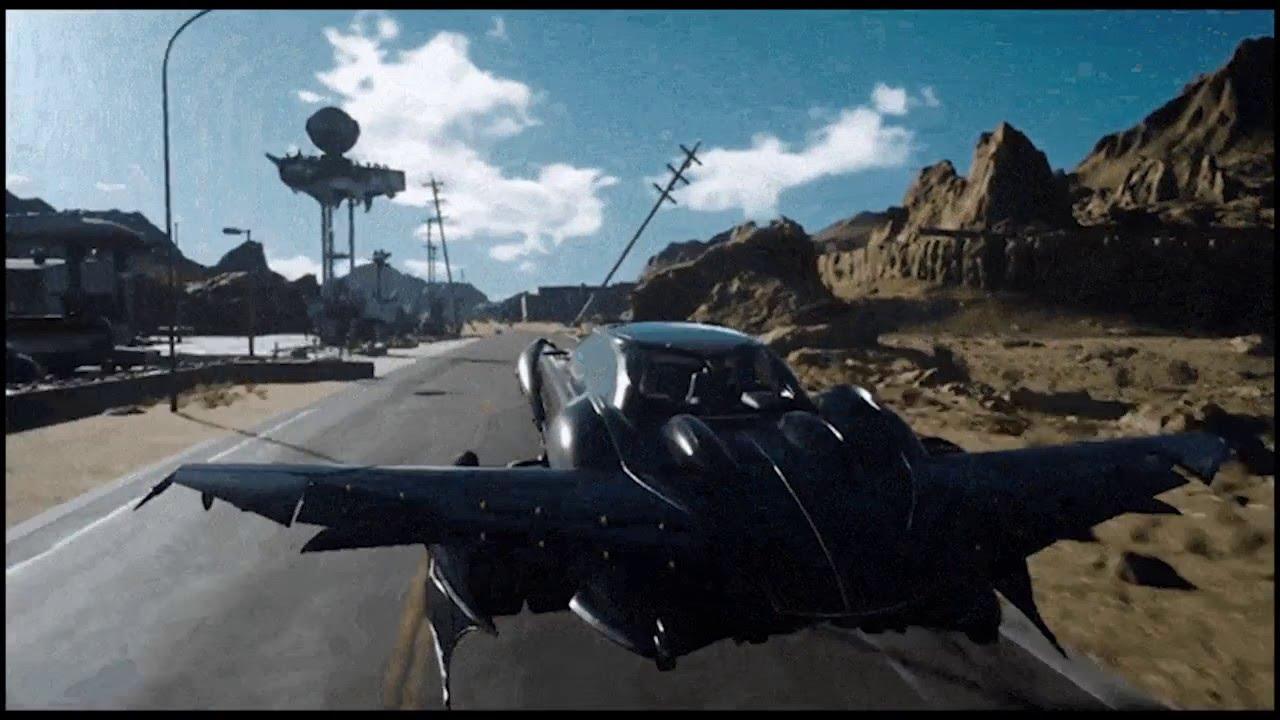 Final Fantasy 15 Nove informacije - anime, film, novi demo, leteči avtomobili preveč stvari - Youtube-6051