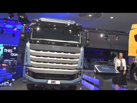 BMC Tuğra 8x2 Chassis Truck (2019) Exterior And Interior