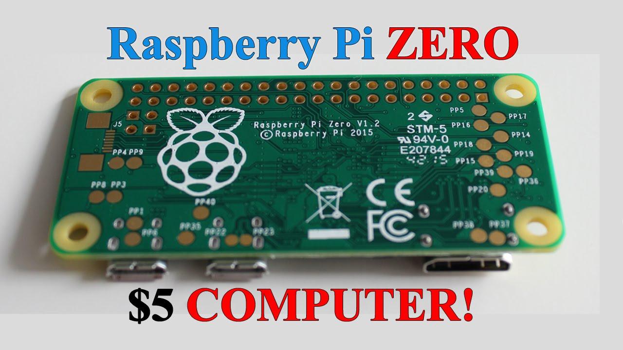 Raspberry pi zero a computer for 5 - Raspberry Pi Zero A Computer For 5 15
