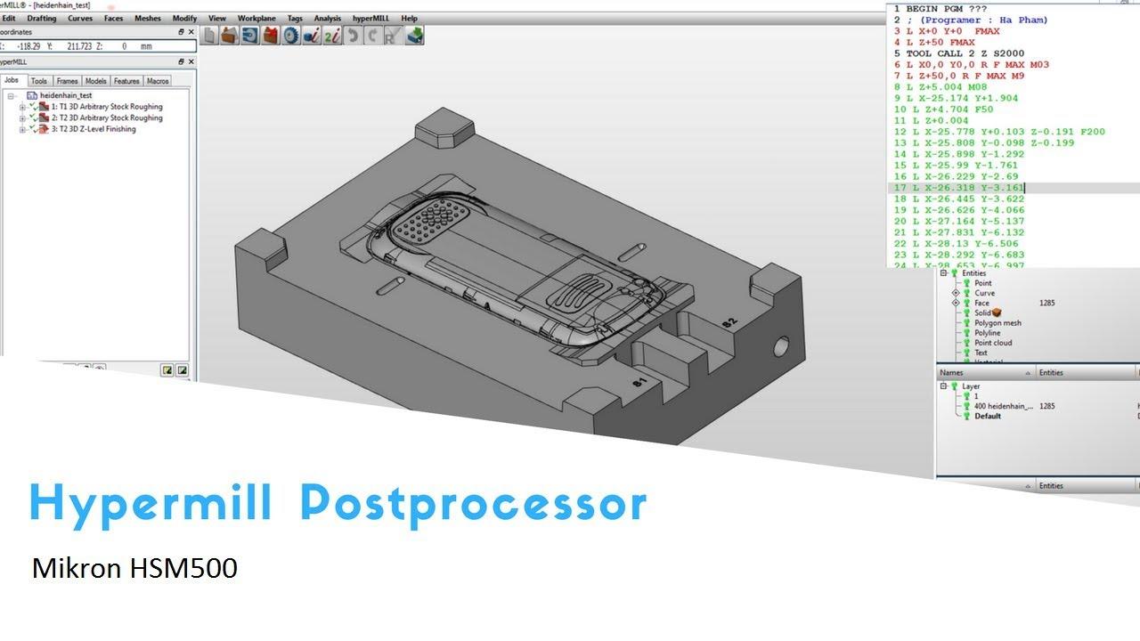 Imspost v7 4R software : Builder postprocessor for machining CNC by