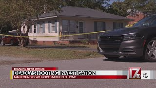 Deadly shooting investigation in Smithfield