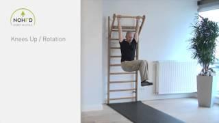 NOHrD Wallbars - Knees Up Rotation (en)